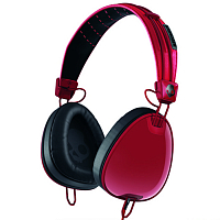 Skullcandy AVIATOR w/Mic3 Red/Black/Wayfarer