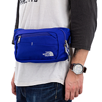 The North Face BOZER HIP PACK II AZTEC BLUE/H (ALV)