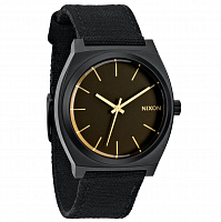 Nixon Time Teller MATTE BLACK/ORANGE TINT