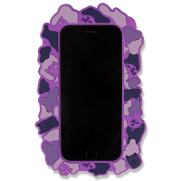 RIPNDIP NERM CAMO IPHONE CASE PURPLE 6/6S PURPLE