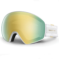 VonZipper JETPACK White Gold Gloss / Gold Chrome