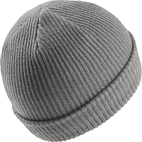 Nike U NK BEANIE FISHERMAN DK GREY HEATHER/WHITE