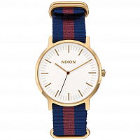 Nixon PORTER NYLON GOLD/WHITE/RED