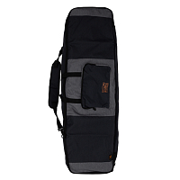 Ronix Squadron Half Padded Board Bag HEATHER CHARCOAL / ORANGE