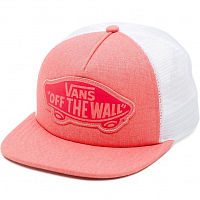 Vans WM BEACH GIRL TRUCKER HAT GEORGIA PEACH