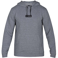 Hurley M CRONE ONE&ONLY BOXED PULLOVER GREY HEATHER