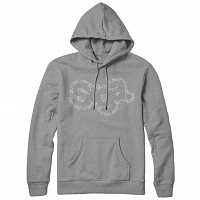 Saga OG LOGO GRAPHIC PULLOVER GREY