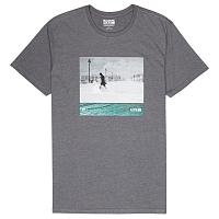 Billabong SWELL SEEKER TEE SS DARK GREY HEATH