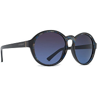 VonZipper LULA Black Color Swirl/Brown Blue Gradient
