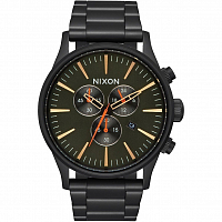 Nixon Sentry Chrono All Black/Surplus