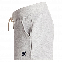 DC REBEL STAR SHOR J OTLR GREY HEATHER
