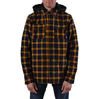 Saga Insulated Flannel GOLD/NAVY