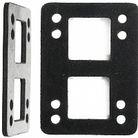 Landyachtz 1/2'' HARD FLAT RISER PADS (SET OF 2) ASSORTED