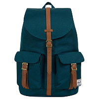Herschel DAWSON Deep Teal/Tan Synthetic Leather