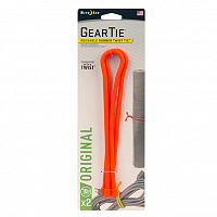 Nite Ize GEAR TIE 2PK BRIGHT ORANGE