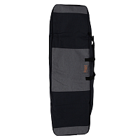 Ronix SQUADRON HALF PADDED BOARD CASE HEATHER CHARCOAL / ORANGE