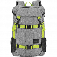 Nixon SMALL LANDLOCK SE BACKPACK Heather Gray/Li