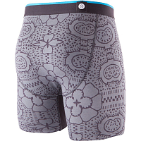 Stance THE BOXER BRIEF TILE CHECK BB GREY