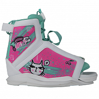 Ronix AUGUST GIRL'S BOOT White / Turquoise / Pink