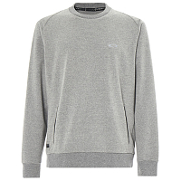 Oakley LINK CREW FLEECE Athletic Heather Grey