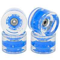 SUNSET SKATEBOARDS LONG BOARD WHEEL WITH ABEC9 BLUE