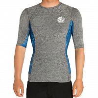 Rip Curl TEAM AGGRO S/SL UV TEE BLUE