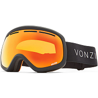 VonZipper SKYLAB BLACK SATIN / WILD FIRE CHROME