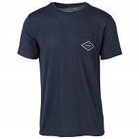 Rip Curl ESSENTIAL SURFERS S/S POCKET TEE NIGHT SKY