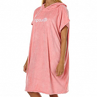 Rip Curl SURF ESSENTIALS HOODED TOWEL Salmon