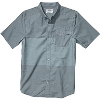 Nixon TABBS S/S SHIRT Dark Gray