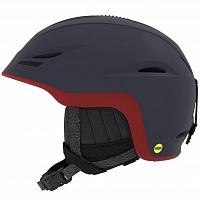 Giro UNION MIPS MATTE MIDNIGHT / DARK RED SIERRA