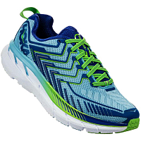 HOKA W CLIFTON 4 SKY BLUE/SURF THE WEB