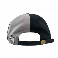 Illegal Civilization SPLIT SNAPBACK BLK/GRY
