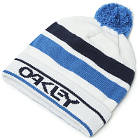 Oakley BEANIE B1B LOGO (STRIPED) White