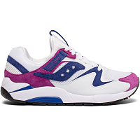 Saucony GRID 9000 OX WHITE/PURPLE GLITTER PU