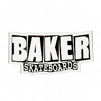 Baker BRAND LOGO STICKER MEDIUM ASSORTED