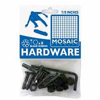 Mosaic MOUNTING BOLTS ALLEN BLACK UNITS ASSORTED