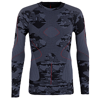 BodyDry DAULAGHIRI LONG SLEEVE SHIRT BLACK CAMO