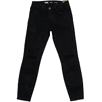 Vans WM DESTRUCTED SKINNY Midnight Black