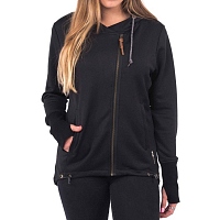Holden PERFORMANCE ZIP UP HOODIE BLACK
