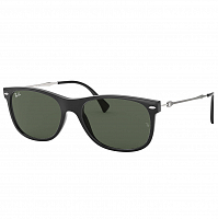 RAY BAN RB4318 BLACK/DARK GREEN