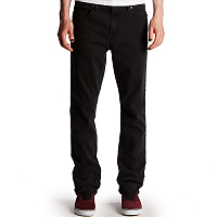 RVCA DAGGERS DENIM WORN BLACK