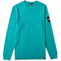 The North Face M L/S FINE 2 TEE PORCELAIN GRE (ZCV)