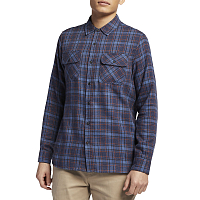 Hurley M WALKER FLANNEL TOP L/S OIL GREY
