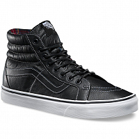Vans SK8-HI REISSUE (Leather) black/plaid