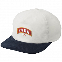 RVCA EVERETT SNAPBACK WHITE/NAVY