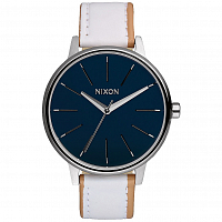 Nixon Kensington Leather NAVY/WHITE