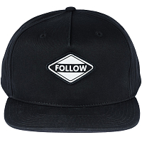 FOLLOW CORP HAT BLACK