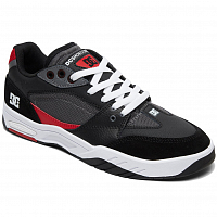 DC MASWELL M SHOE WHITE/BLACK/RED