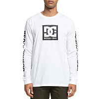 DC SQUARE STAR LS M TEES SNOW WHITE